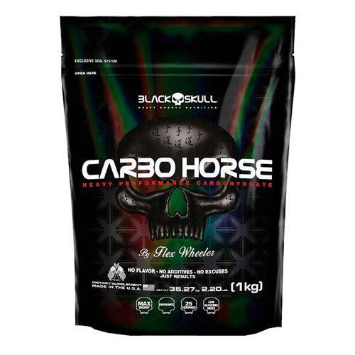 Carbo Horse Refil - 1Kg - Sem Sabor - Black Skull
