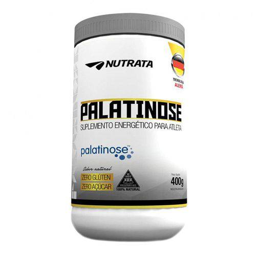 Carboidrato PALATINOSE - Nutrata Suplementos - 400g - Natural