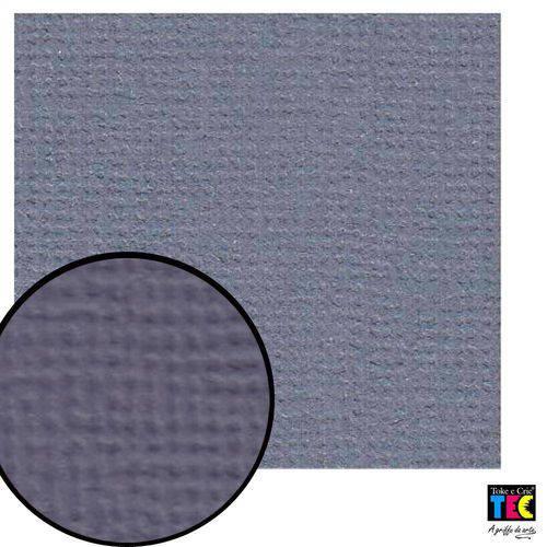 Cardstock Texturizado Toke e Crie Azul Jeans - 9687 - Pcar025