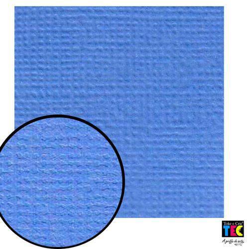 Cardstock Texturizado Toke e Crie Azul Onda - 8405 - Pcar024