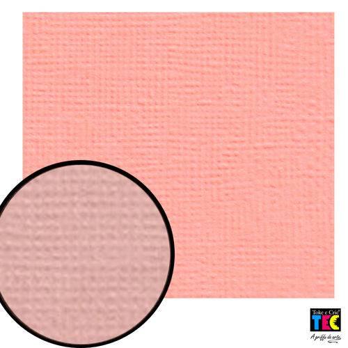 Cardstock Texturizado Toke e Crie Rosa Pêonia - 7956 - Pcar015