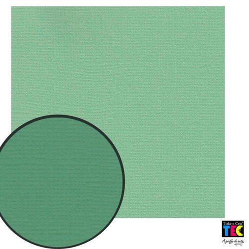 Cardstock Texturizado Toke e Crie Verde Água - 14838 - Pcar407