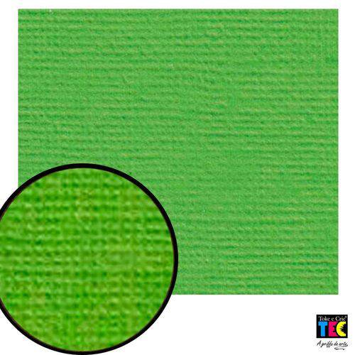Cardstock Texturizado Toke e Crie Verde Relva - 7950 - Pcar009