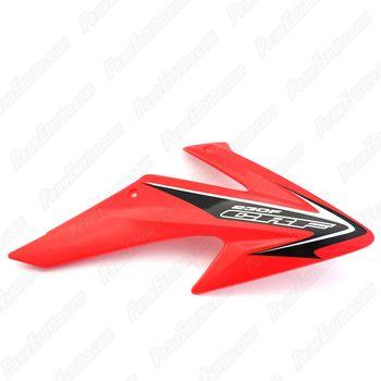 Carenagem Aba de Tanque Direita Honda CRF 230 08/14 Vermelho
