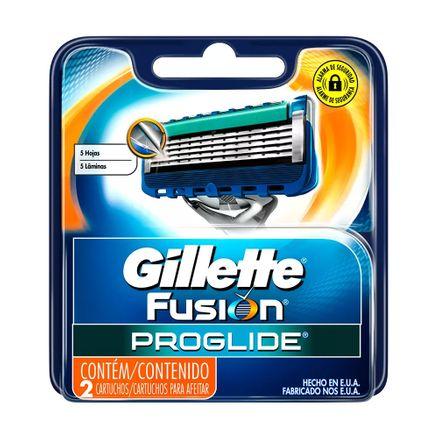 Carga Gillette Fusion ProGlide 2 Unidades