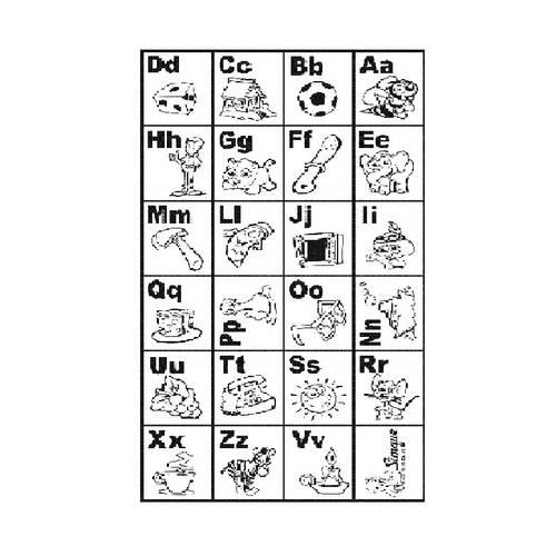 Carimbo Coordenação Motora do Alfabeto