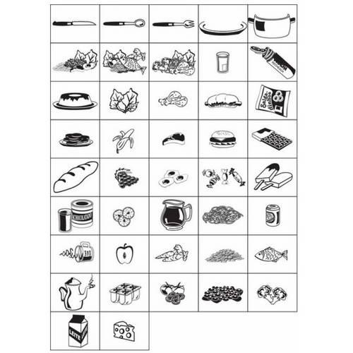 Carimbo Educação Alimentar Refeições Interativo 2090 - Carlu