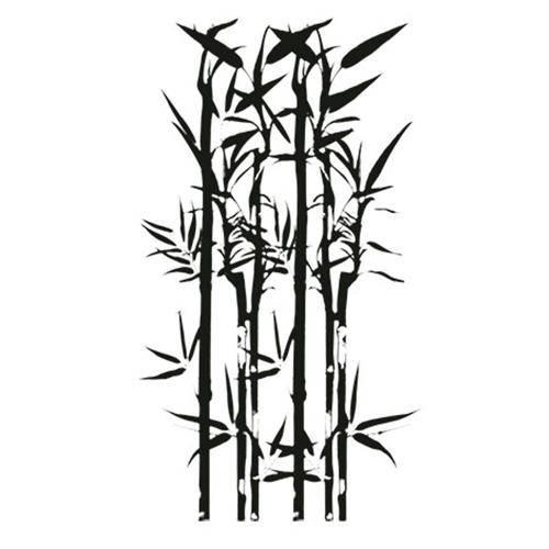 Carimbo em Borracha Bamboo Clp-046 - Litoarte