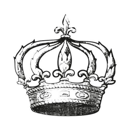 Carimbo em Borracha Coroa Clp-009 - Litoarte