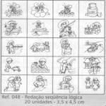 Carimbo Redacao Sequencia Logica - 048