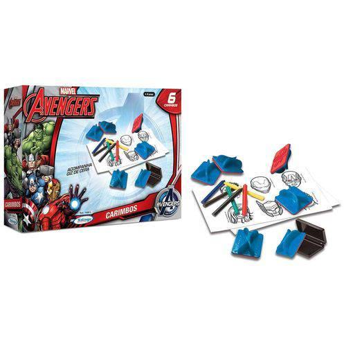 Carimbos Infantis Avengers Assemble - Xalingo
