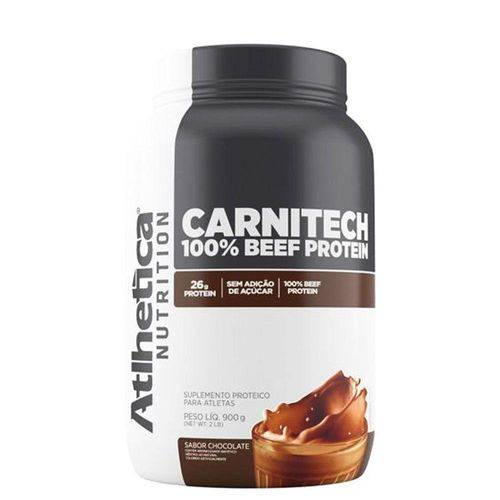 Carnitech 100% Beef Protein 900g Atlhetica