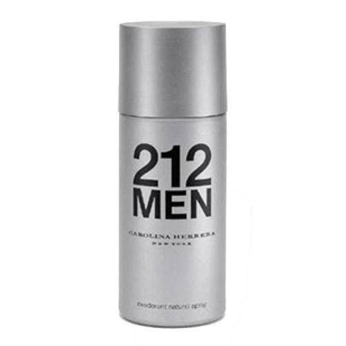 Carolina Herrera 212 Men Desodorante Spray Masculino 150ml