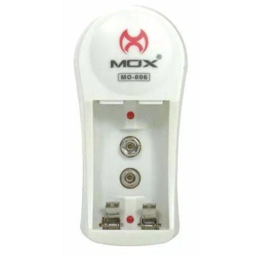 Carregador Bateria 9v Mox Mo-806 Bivolt