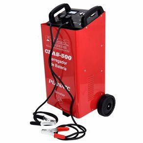 Carregador de Bateria 50A C/Start CBAS-500 CBAS500I - Planatc