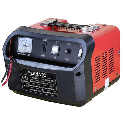 Carregador de Bateria Automotiva 30/20a 12/24v-planatc-cba-400