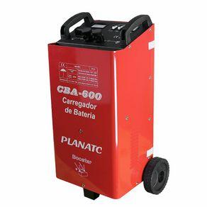 Carregador de Bateria Automotiva C/ Aux. Part. CBA-600 CBA600I - Planatc