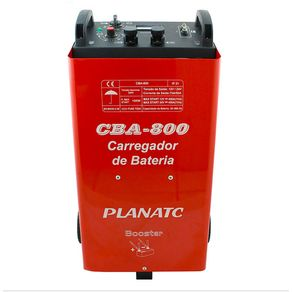 Carregador de Bateria Automotiva C/ Aux.Part.CBA-800 CBA800I - Planatc