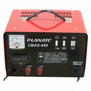 Carregador de Bateria Automotiva C/ Aux.Part. CBAS-450/1-I - Planatc