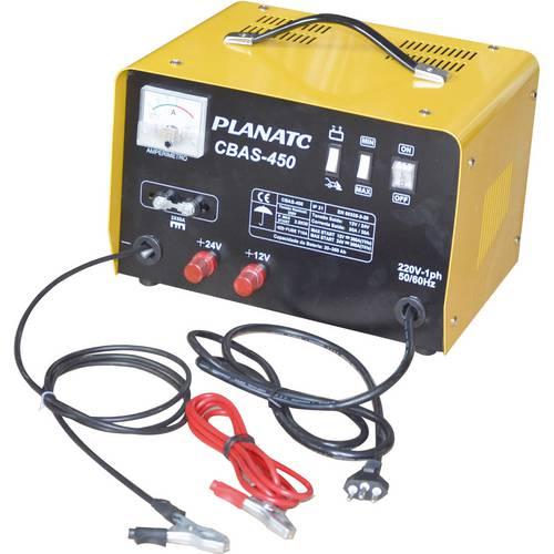 Carregador de Baterias 12/24v 30a Cbas 450 Planatc 127 V