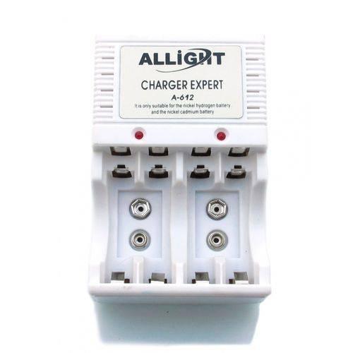 Carregador de Pilhas Aa e Aaa e Bateria 9v