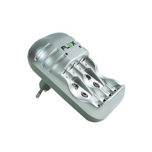 Carregador para Pilha AAA 1100MA com 4 Pilhas AAA FX-C03