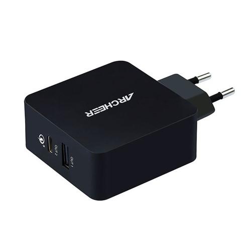 Carregador Turbo Power Qualcomm USB e USB C Quick Charge 3.0