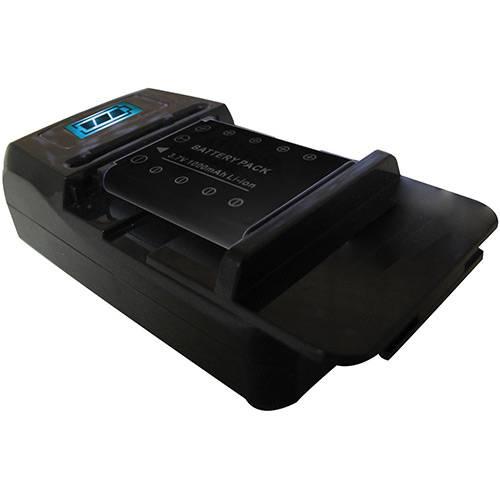 Carregador Universal de Bateria Vivitar Bivolt com Saída USB Vivsc2100B