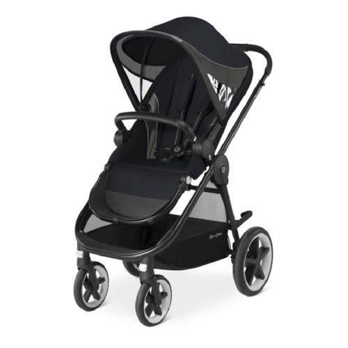 Carrinho Balios com Bebê Conforto e Base Isofix Preto Cybex