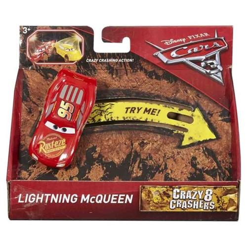 Carrinho Cars3 Cracy Mattel Relâmpago McQueen Relampago McQueen