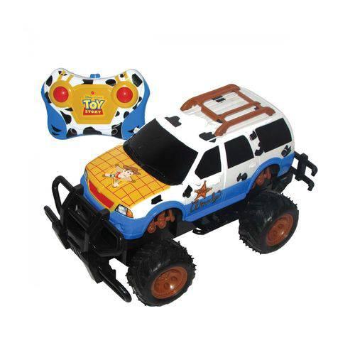 Carrinho com Controle Remoto Rodeio Driver Toy Story Candide
