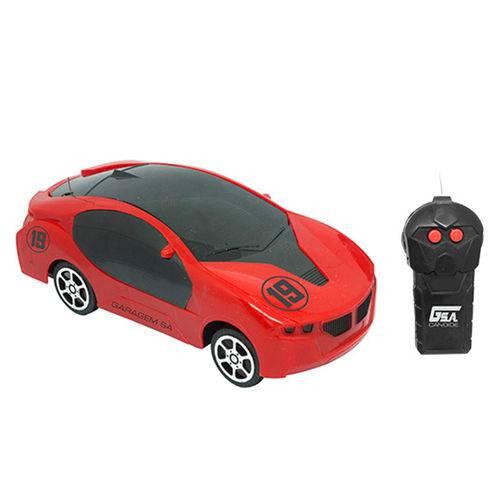 Carrinho Controle Remoto Garagem Sa Race Car 19 - Candide