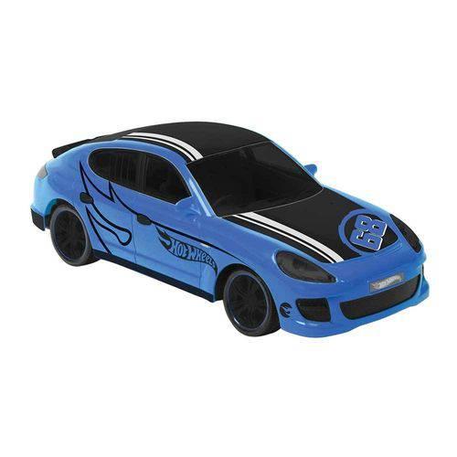 Carrinho Controle Rocket Hotwheels Azul
