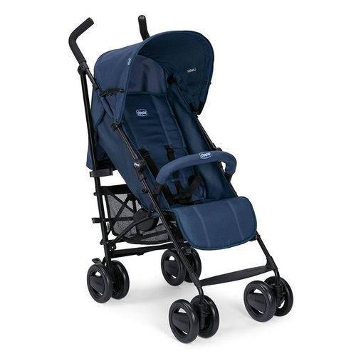 Carrinho de Bebê Até 15kg Chicco London Up Blue Passion