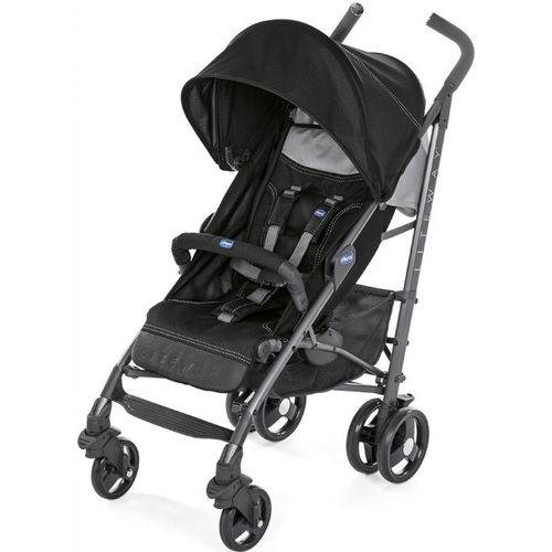 Carrinho de Bebê Chicco Lite Way3 Jet Black