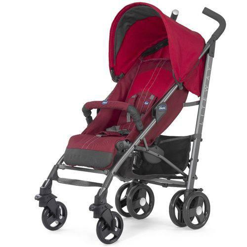 Carrinho de Bebê Lite Way Basic 2 Red - Chicco