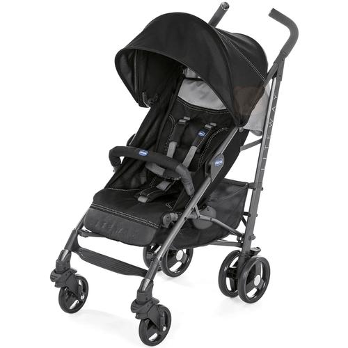 Carrinho de Bebê Lite Way 3 Jet Black - Chicco