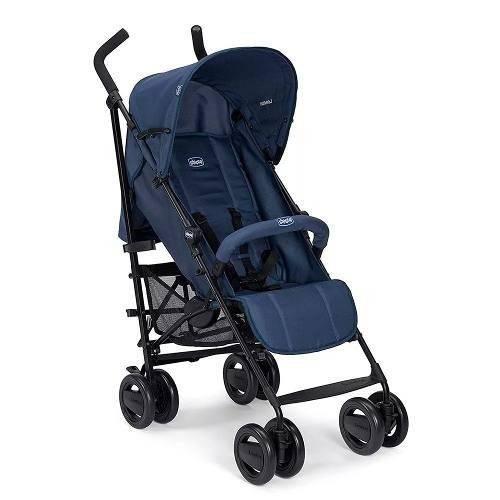 Carrinho de Bebê London Up Azul Chicco 0007925864