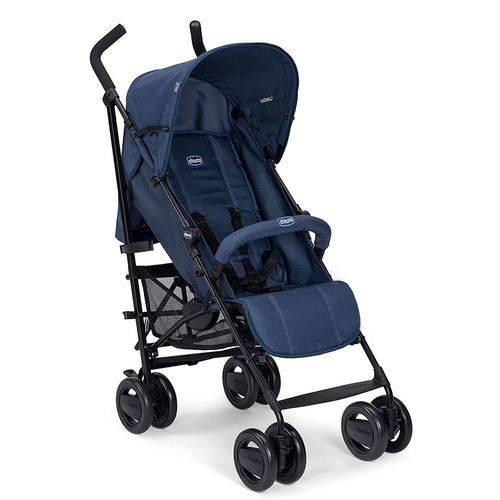 Carrinho de Bebê London Up Azul Passion - Chicco