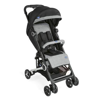 Carrinho de Bebê Miinimo 2 C/ Barra de Proteção Black Night - Chicco