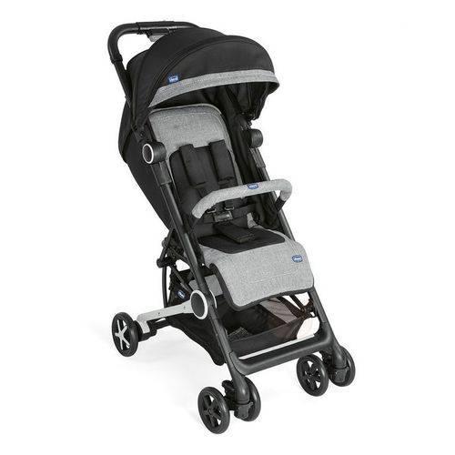 Carrinho de Bebê Miinimo 2 com Barra de Proteção Black Night - Chicco