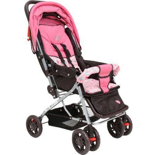 Carrinho de Bebê Monaco Corujinha - Basic+ Baby