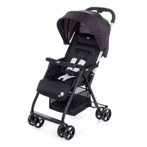 Carrinho de Bebê Ohlalà Chicco Dobravel Cor Black + Leve Il