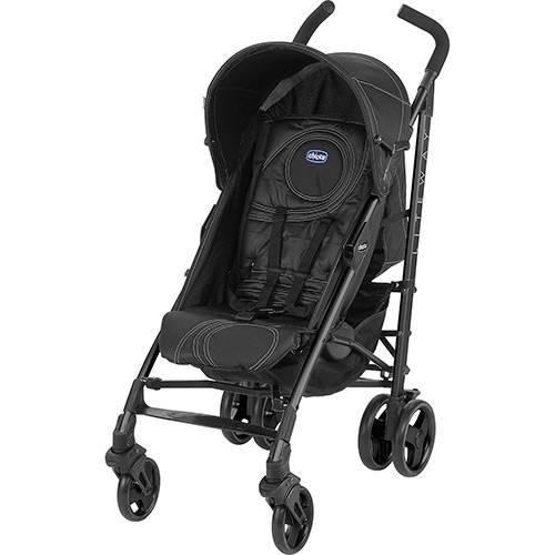 Carrinho de Bebê Passeio Chicco Lite Way Preto 3 Posições