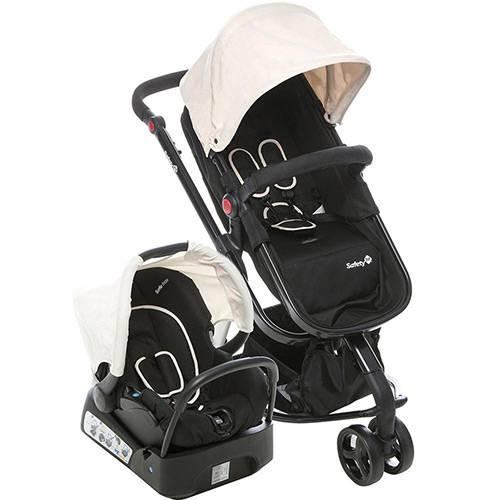 Carrinho de Bebê Travel System Mobi Plain Beige - Safety 1st