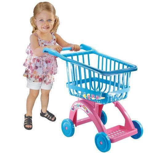 Carrinho de Compras Supermercado Baby Alive Lider