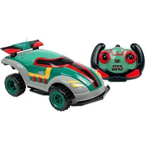 Carrinho de Controle Remoto - Combat Car Star Wars - Boba Fett - Candide - Disney