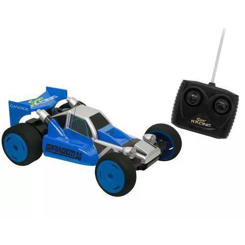 Carrinho de Controle Remoto Garagem S.A Super Racing - Azul