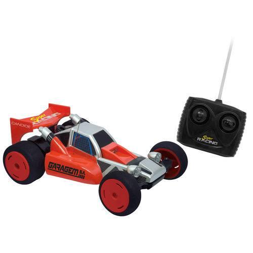 Carrinho de Controle Remoto - Garagem S.a - Super Racing - Vermelho - Candide