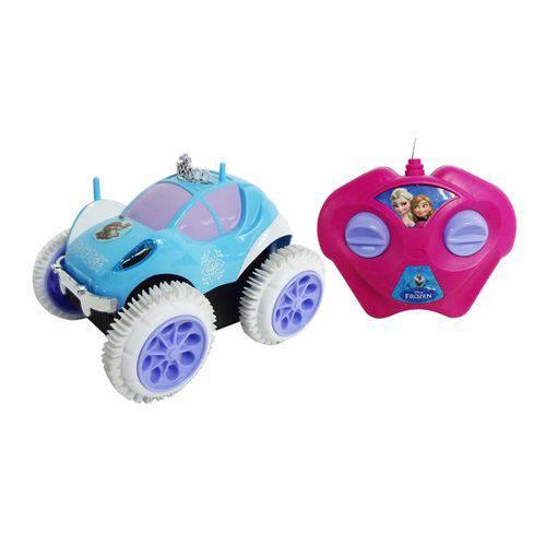 Carrinho de Controle Remoto Giro Gelado Frozen Disney Carro Brinquedo - Mix8 614216